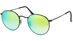 Okulary Ray-Ban Round Metal RB3447-002/4J