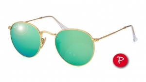 Okulary Ray-Ban Round Metal RB3447-112/P9