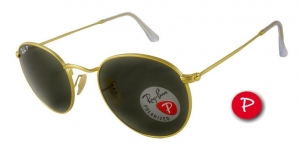 Okulary Ray-Ban Round Metal RB3447-112/58