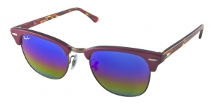 Okulary Ray-Ban Clubmaster RB3016-1222C2