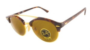 Okulary Ray-Ban Clubmaster RB4346-990/33