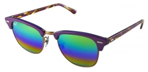 Okulary Ray-Ban Clubmaster RB3016-1221C3
