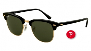 Ray-Ban Clubmaster RB3016-901/58