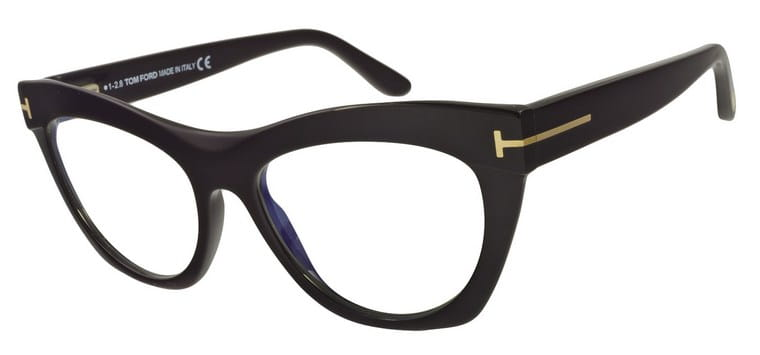f54d0b7a09d Okulary Tom Ford TF 5559B 001 4 Eyes Optyka