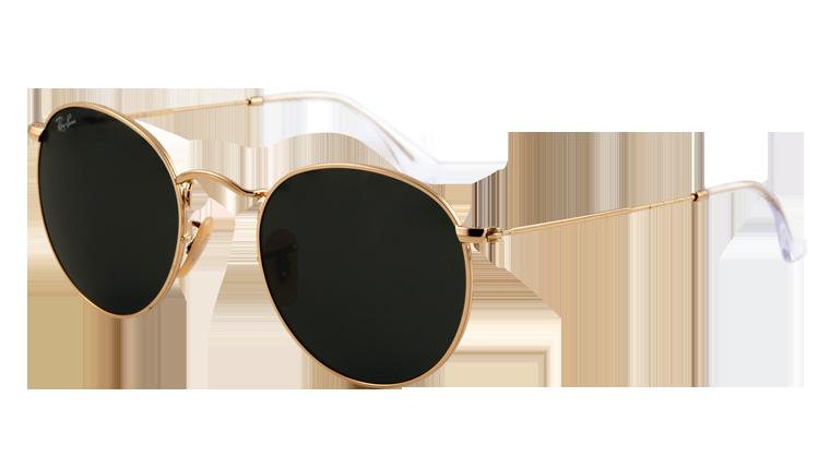 7bc7e2b292d45f Okulary Ray-Ban® Round Metal RB3447-001 4 Eyes Optyka